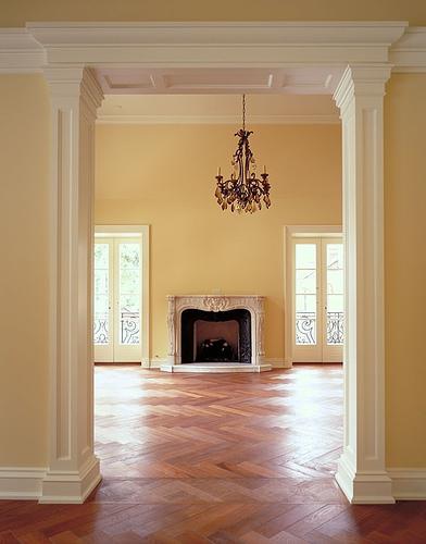wide doorway