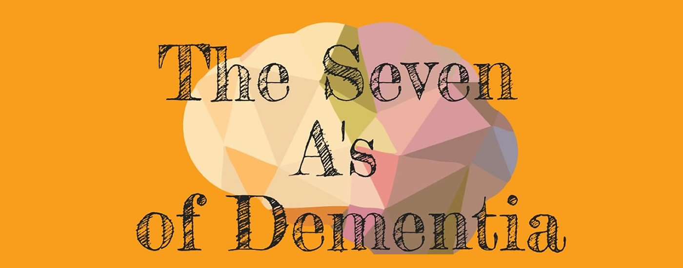 Infographic: The 7 A's of dementia symptoms