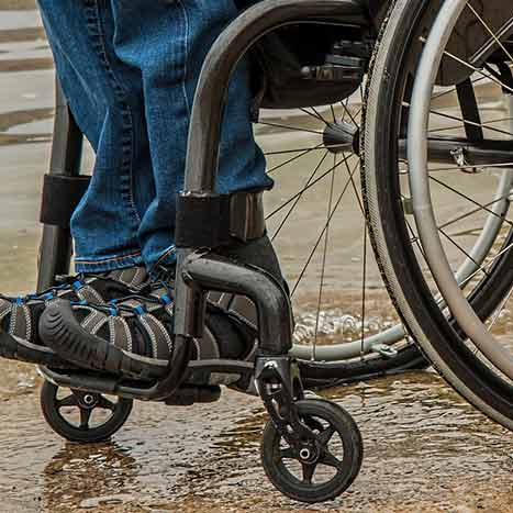 Transport wheelchair vs. manual wheelchair